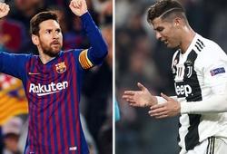 Hé lộ phản ứng khó tin của Messi khi biết kình địch Ronaldo bị loại ở Cúp C1
