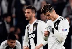 Juventus mất bộn tiền sau khi bị Ajax loại khỏi Cúp C1