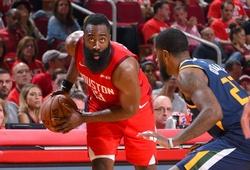 """James Harden có triple-double, Utah Jazz hoàn toàn bất lực trước """"Thần râu"""""""