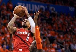 Damian Lillard tái hiện hình ảnh huyền thoại Allen Iverson tại NBA Playoffs 2019 sau 18 năm