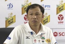HLV Dương Minh Ninh: Mong các CĐV tiếp tục tiếp sức cho HAGL