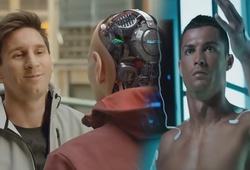 """Quên VAR đi, bóng đá sắp bị """"cai trị"""" bởi robot và hàng loạt đồ chơi công nghệ cao"""