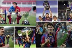 Messi áp sát kỷ lục về danh hiệu của Ryan Giggs