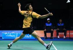 Nguyễn Tiến Minh tiếc vì thua tay vợt số 1 thế giới ở giải cầu lông vô địch châu Á