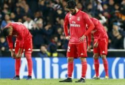 Real Madrid trên đà thiết lập kỷ lục điểm số tệ nhất lịch sử ở La Liga