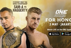 TRỰC TIẾP ONE Championship: For Honor