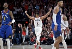 """Trận đấu 4 hiệp phụ của Blazers và Nuggets điên rồ đến mức khiến hệ thống của NBA """"lag nhẹ"""""""