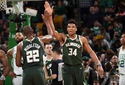 Đáp trả Paul Pierce, Antetokounmpo đưa Bucks vào chung kết miền sau 18 năm vắng bóng