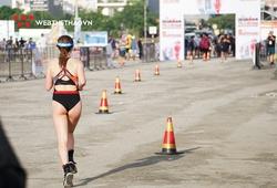 Bỏng mắt với vẻ đẹp hấp dẫn của nữ Sprinter IRONMAN 70.3 Vietnam 2019