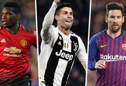 """KỲ LẠ: Pogba """"đổ lỗi"""" cho Ronaldo và Messi khiến anh nhận chỉ trích ở MU"""