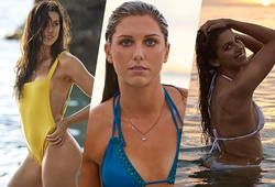 """""""Ngọc nữ"""" của ĐT Mỹ Alex Morgan nóng bỏng trong bộ ảnh bikini hè 2019"""