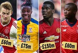 Từ Pogba, Hazard, Griezmann đến Coutinho, De Ligt, 14 cầu thủ có giá hơn 1 tỷ bảng