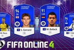 FIFA Online 4: Những pha đi bóng cực đỉnh của TC Seedorf, Gerrard, Lampard và Ballack