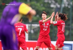 Chùm ảnh: Hà Nội đại thắng trong ngày khai mạc giải bóng đá nữ Cúp Quốc gia