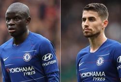 """Jorginho, Kante, Azpilicueta tạo nên những """"máy chạy"""" kinh ngạc cho Chelsea"""