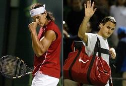 Nadal lập thần tích mà Federer chỉ biết ngước nhìn