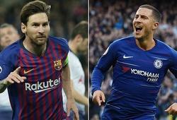 """Vượt mặt hàng loạt sao khủng, nghiên cứu chứng minh Hazard """"giống"""" Messi nhất"""