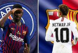 Chuyển nhượng Barca 29/5: Nhật báo thân Barca tiết lộ tin đồn trao đổi Neymar và Dembele