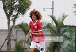 Sao trẻ U16 Pháp bất ngờ xuất hiện ở Phố Hiến FC