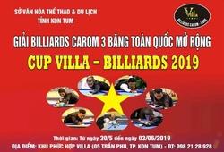 Xác định 16 cơ thủ vào vòng chung kết Giải billiards carom 3 băng toàn quốc mở rộng 2019