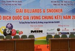 Lịch thi đấu VCK Giải Billiards & Snooker VĐQG 2019