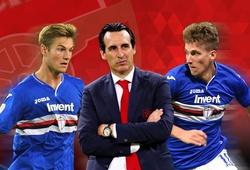 Chuyển nhượng Arsenal 8/6: Arsenal phải trả 44 triệu bảng mới có bộ đôi của Sampdoria