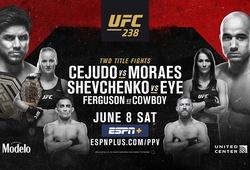 TRỰC TIẾP UFC 238: Henry Cejudo vs Marlon Moraes