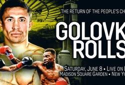 TRỰC TIẾP Quyền Anh: Gennady Golovkin vs Steve Rolls