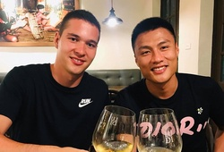 Bộ đôi cầu thủ Việt kiều Séc tái ngộ nhau tại Hà Nội