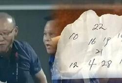 """Truyền mật thư là """"tuyệt chiêu"""" của thầy Parkở ĐT Việt Nam"""