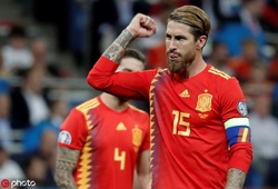 Ramos cán mốc ghi bàn mới khi Tây Ban Nha hạ gục Thụy Điển ở vòng loại Euro 2020