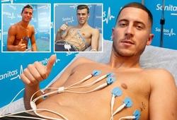 """Eden Hazard bị CĐV """"troll"""" sấp mặt khi so sánh với những ngôi sao từng kiểm tra y tế gia nhập Real"""