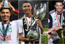 Ronaldo khoe những dấu mốc của mùa giải 2018/19 với NHM