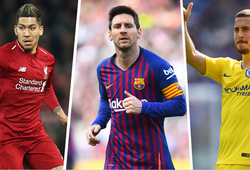 """""""Số 9 ảo"""" là gì? Messi, Hazard, Firmino thi đấu như thế nào ở vị trí này?"""