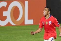 Alexis Sanchez chấm dứt khô hạn và những điểm nhấn từ trận Chile vs Nhật Bản
