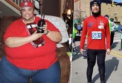 Chạy bộ đã thay đổi cuộc đời chàng trai Mỹ nặng gần 300kg