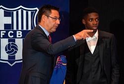 Chuyển nhượng Barca 20/6: Chủ tịch Bartomeu đảm bảo tương lai cho Dembele