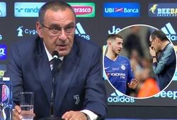 Thống kê chứng minh Sarri có lý khi buông lời chỉ trích Eden Hazard