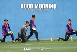 Ceres tập luyện trước trận đại chiến với Hà Nội FC