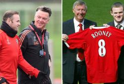 Rooney đưa ra tuyên bố gây sốc về 2 HLV Van Gaal và Sir Alex Ferguson