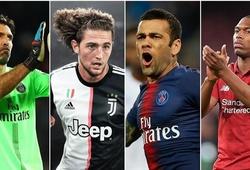 Danh sách 14 ngôi sao chính thức trở thành cầu thủ tự do vào hôm nay khiến nhiều CLB thèm khát