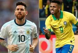 Brazil bất bại trước Argentina và 14 dữ liệu đáng chú ý trước trận bán kết Copa America 2019