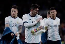 Copa America 2019 kéo dài 9 lần đau khổ của Messi với đội tuyển Argentina