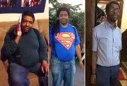 Người đàn ông khiếm thị giảm 145kg, hoàn thành giấc mơ chạy Boston Marathon