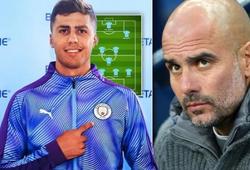 Guardiola xếp đội hình Man City thế nào với bản hợp đồng kỷ lục?