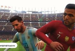 "PES COPA AMERICA 2019   Argentina vs Chile   ""Tuấn Hưng"" Sanchez khiến Messi trắng tay rời giải?"