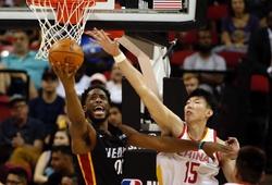 Trung Quốc thua cả 2 trận đầu tiên tại NBA Summer League