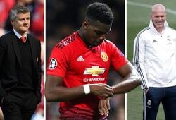 MU nhắn nhủ sẽ chỉ nhả Pogba cho Real Madrid sau khi chiêu mộ được 1 cầu thủ