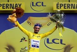 Chặng 3 Tour de France2019: Julian Alaphilippe tước áo vàng của Mike Teunissen