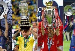 Dani Alves, Messi, Ryan Giggs và top 10 ông vua danh hiệu trong lịch sử bóng đá